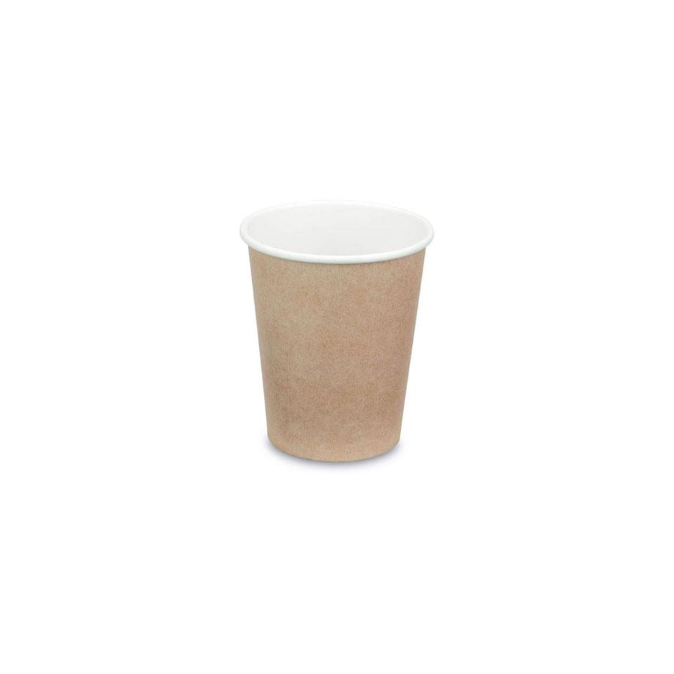Bicchiere cappuccino in carta kraft cl 18