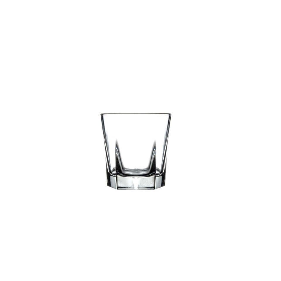 Bicchiere double old Inverness Libbey in vetro cl 37