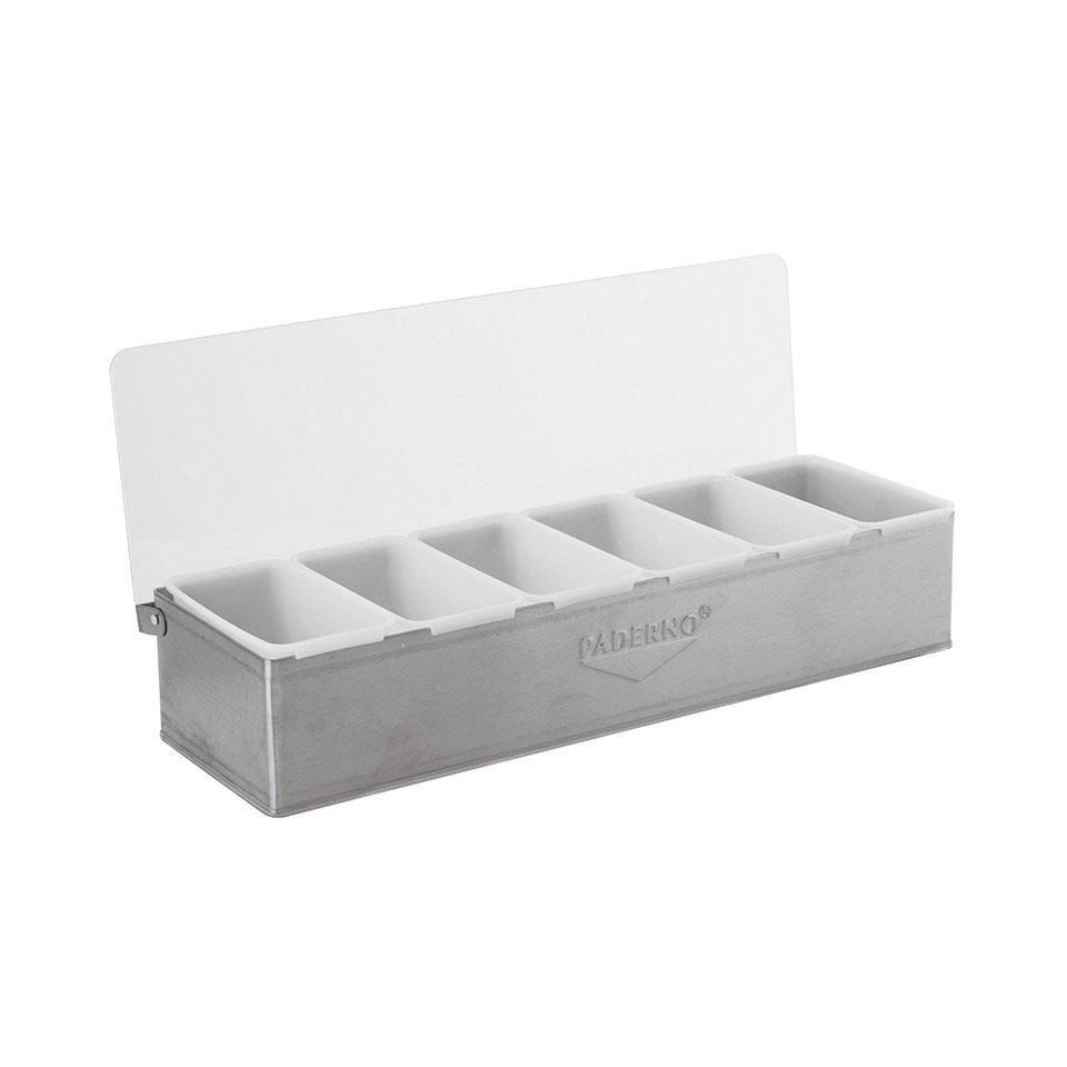 Porta condimenti Sambonet Paderno acciaio