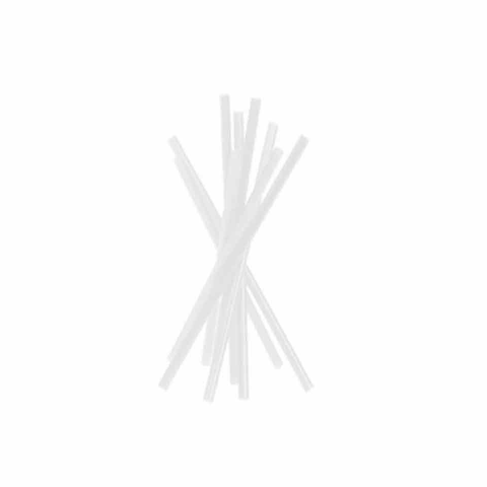 Cannuccia drinking straw plastica cm 21 trasparente