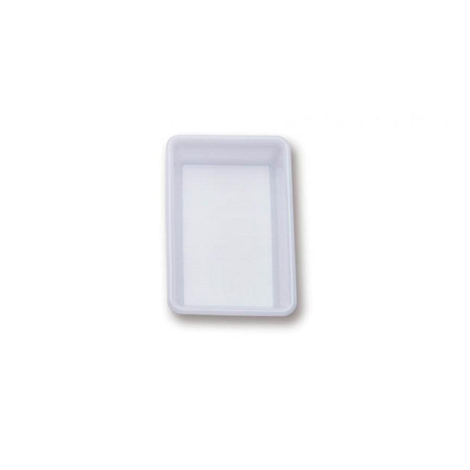 Vaschetta rettangolare Araven in policarbonato bianco