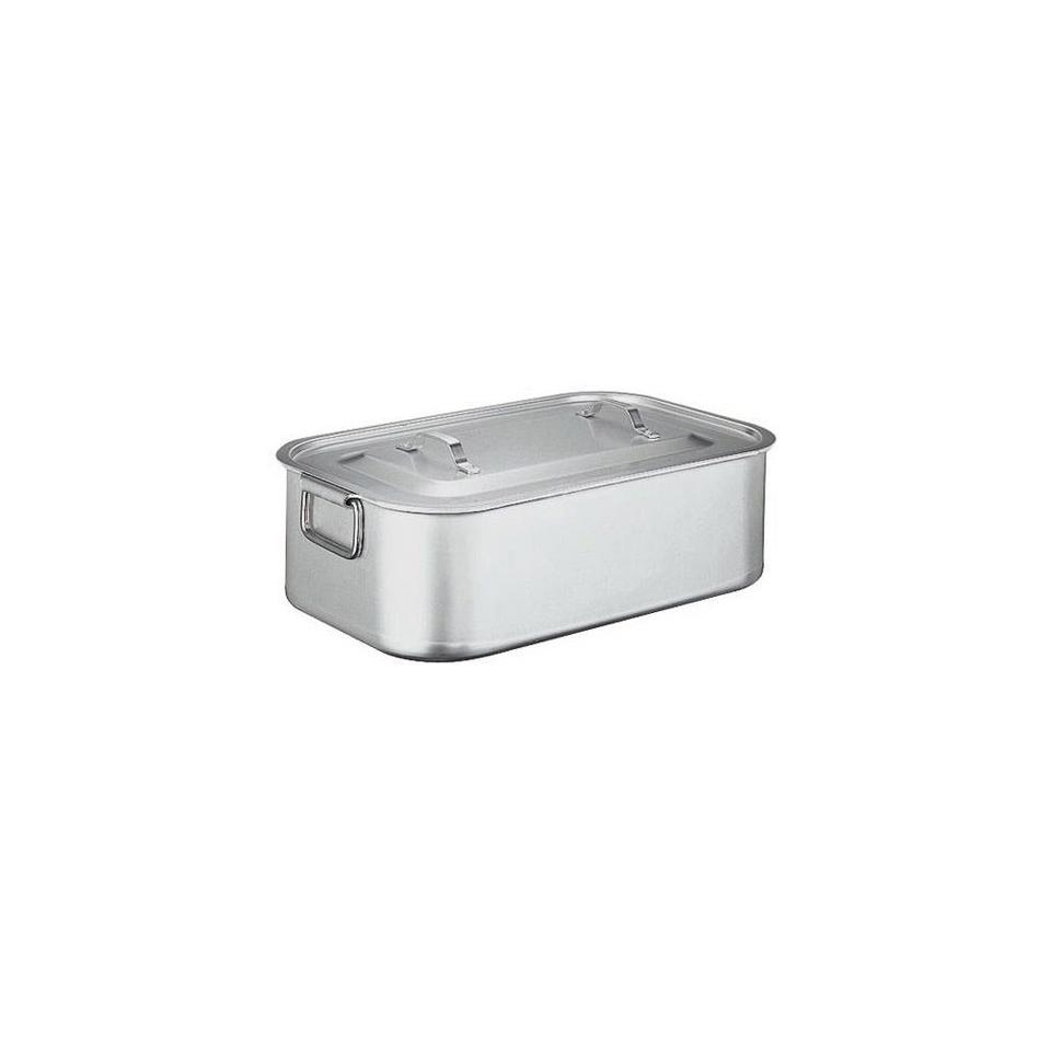 Brasiera Paderno in alluminio, con coperchio cm 40 x 26