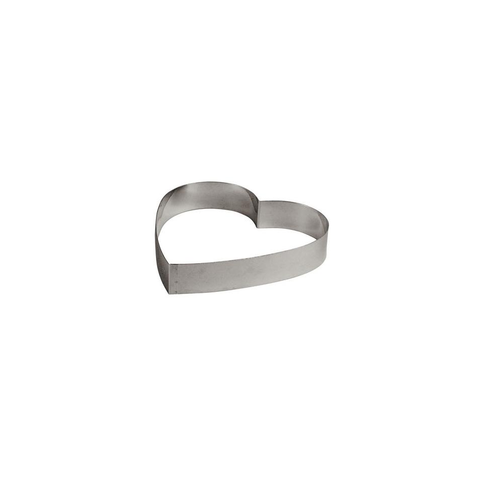 Tagliapasta a forma di cuore 20cm acciaio inox