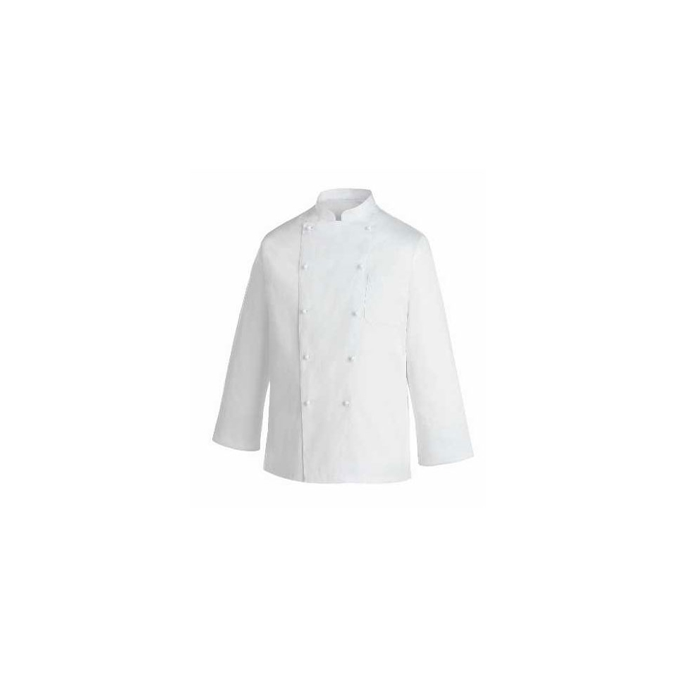 Giacca cuoco Rex Egochef cotone manica lunga bianco