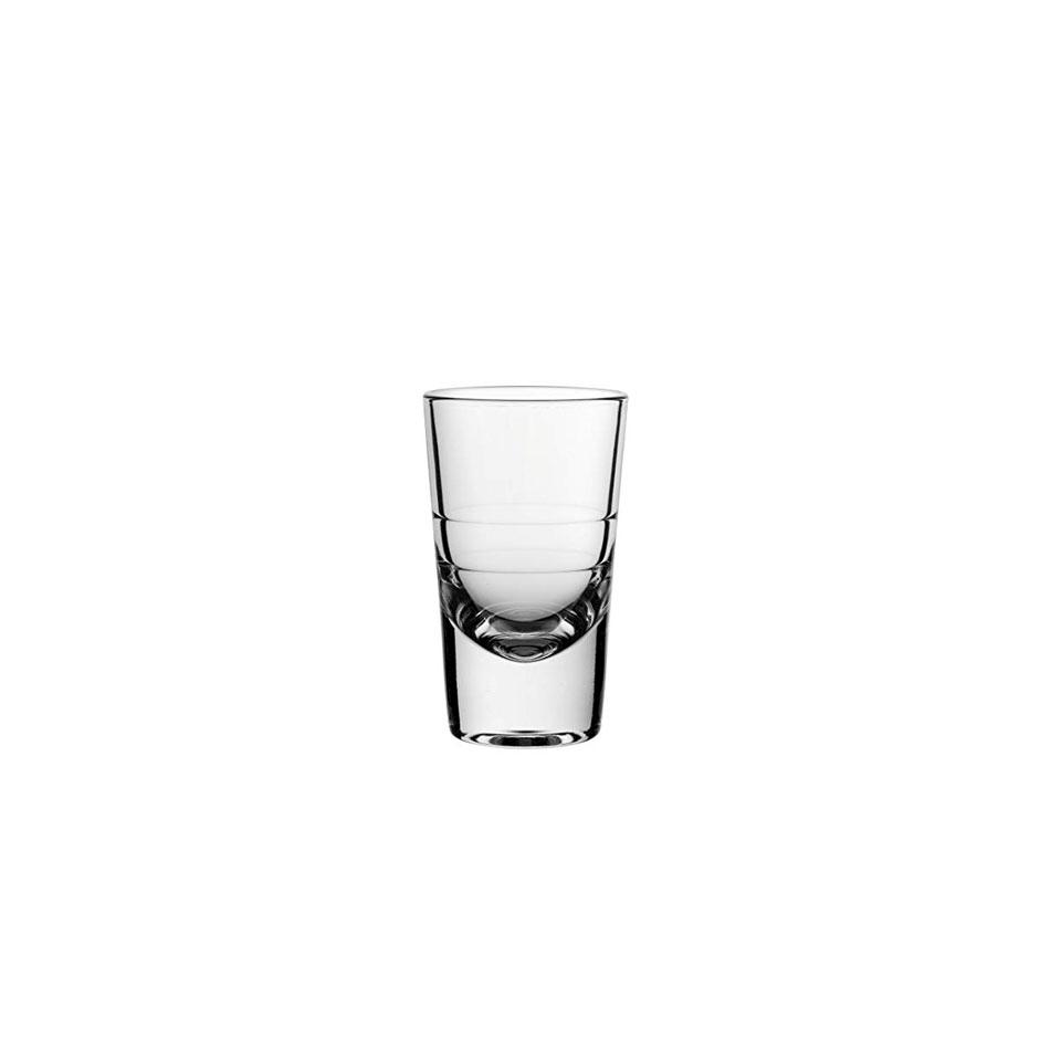 Bicchieri Shot Grande in vetro con tacche