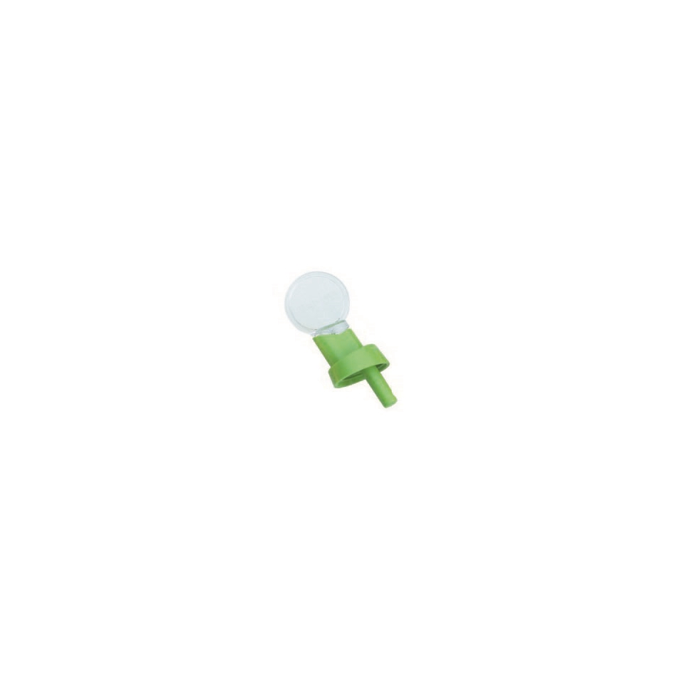 Beccuccio versatore con tappo in verde