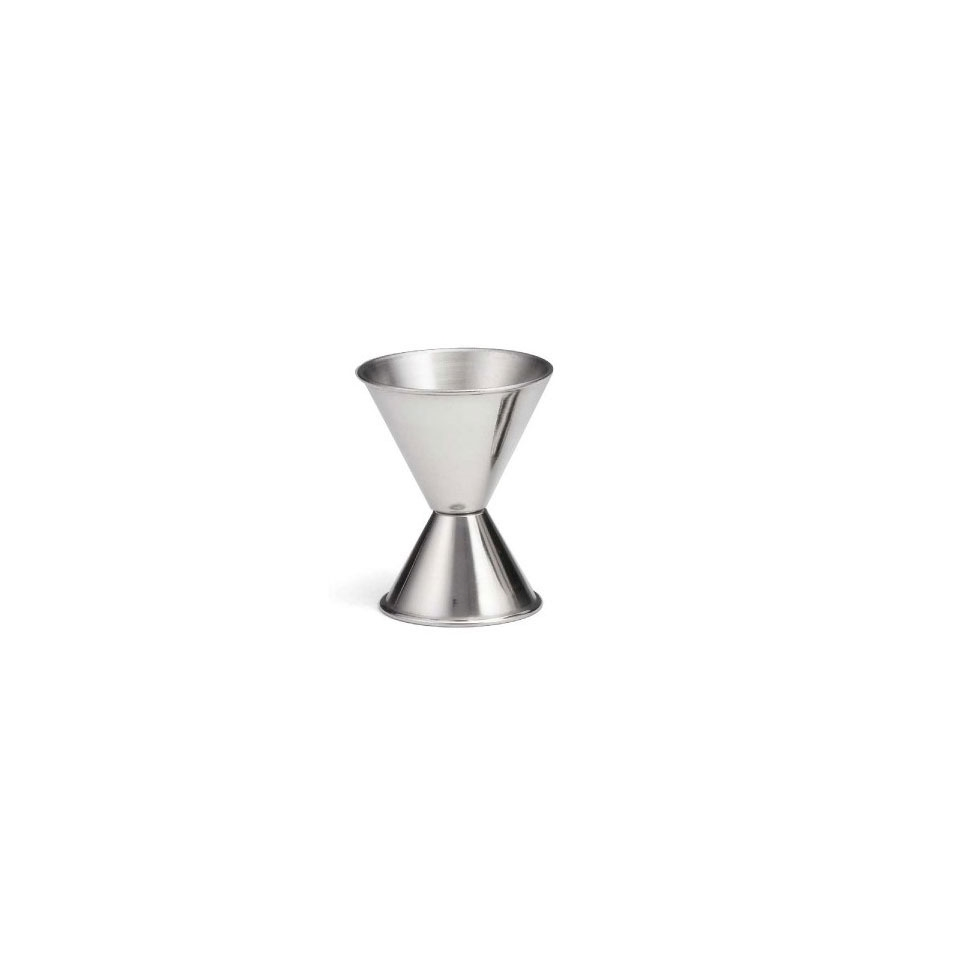 Jigger con misure in once in acciaio oz 1-2