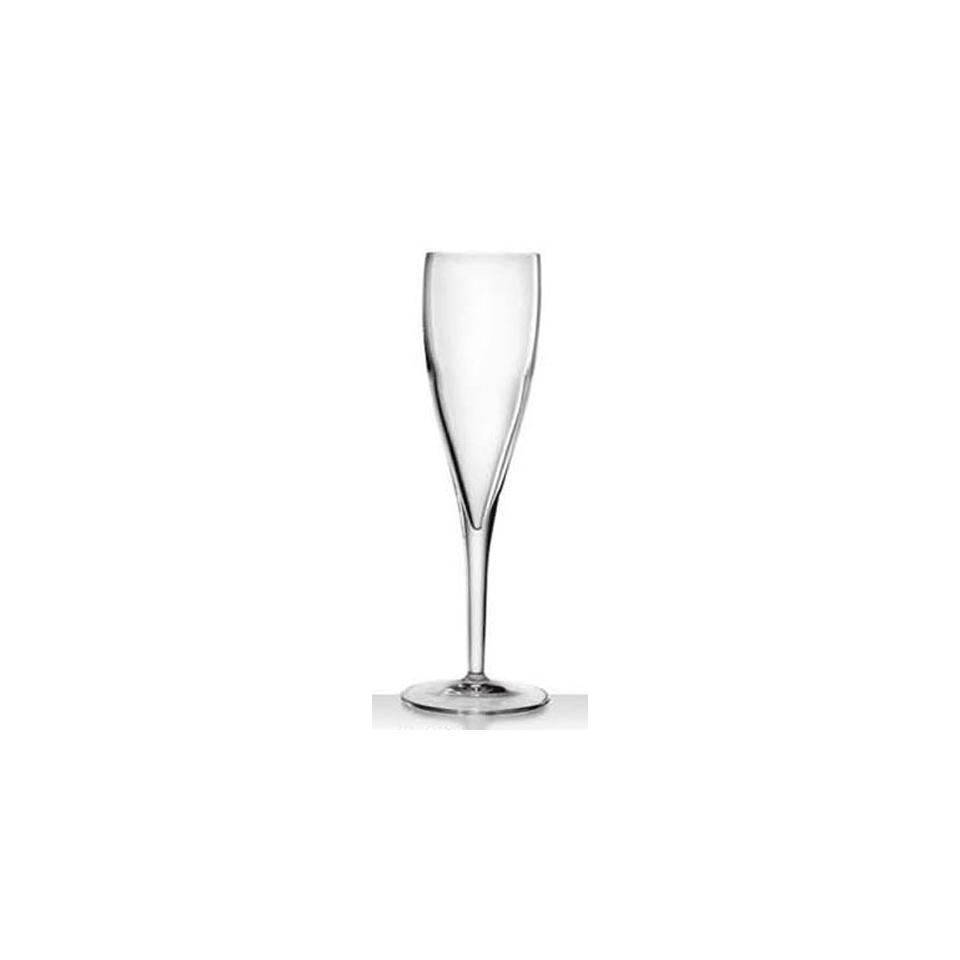 Calice champagne Accademia Vino Bormioli Luigi in vetro cl 18,5