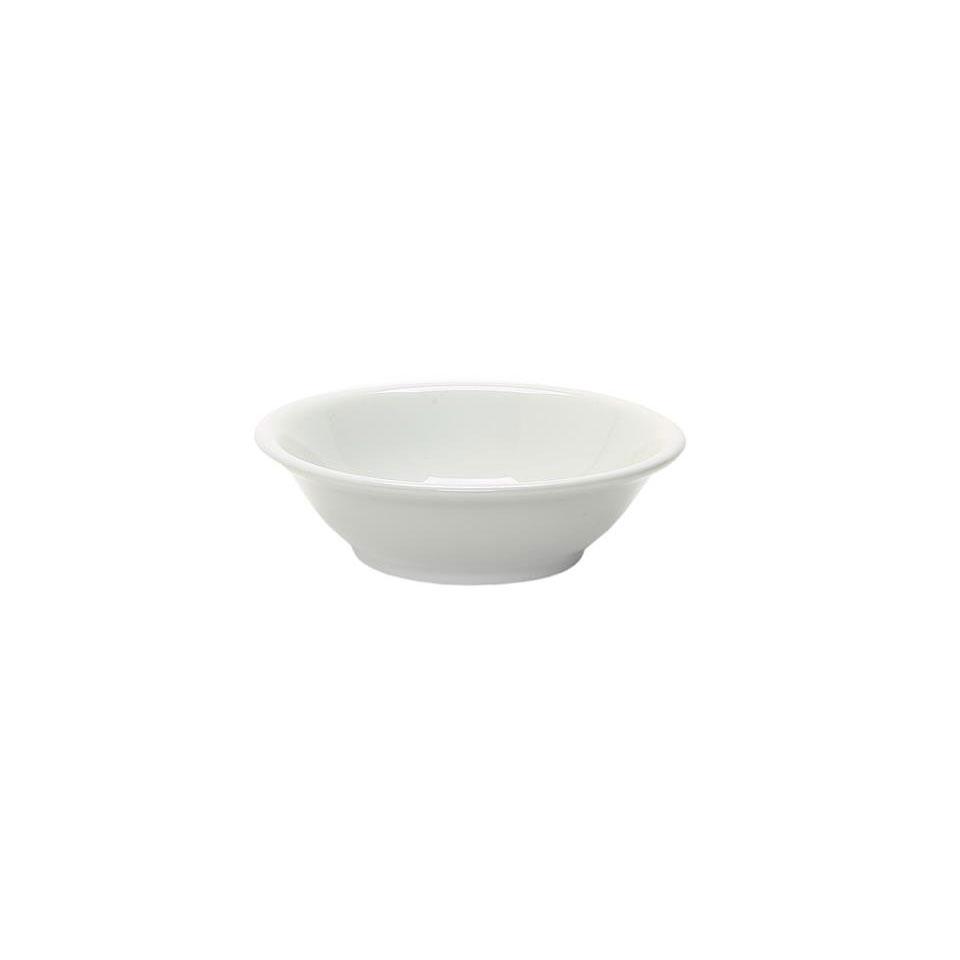 Piatto a calotta in porcellana bianco cm 18