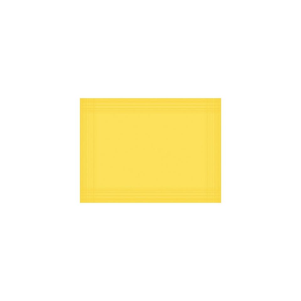Tovaglietta Maitre Duni in cellulosa Dunicell 30 x 40 cm gialla