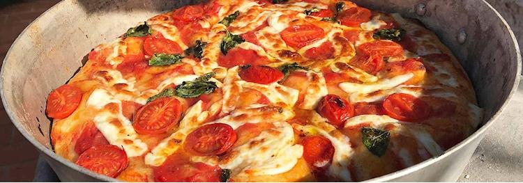 Teglie Rotonde Per Pizza Alluminio.Teglie Pizza Rotonde Alluminio Promozioni Rgmania