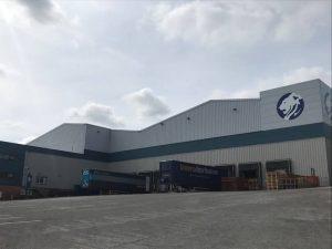 Il magazzino principale della Churchill China